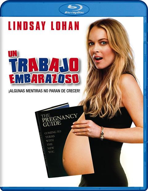 Carátula Un trabajo embarazoso Blu-ray Alquiler