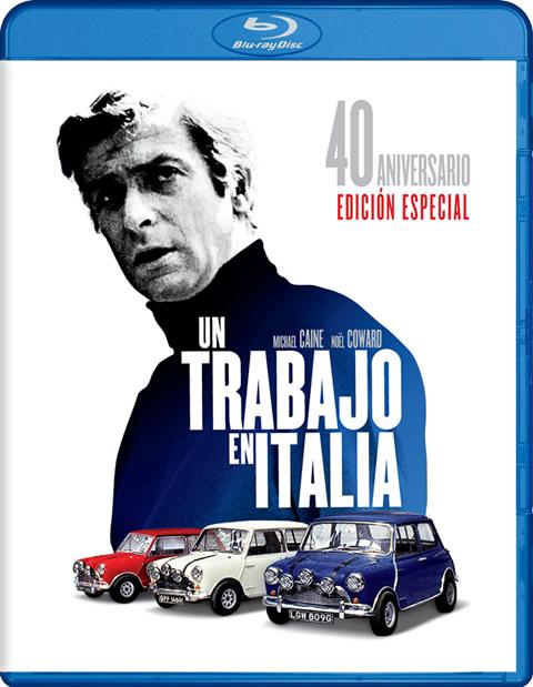 Carátula Un trabajo en Italia Blu-ray