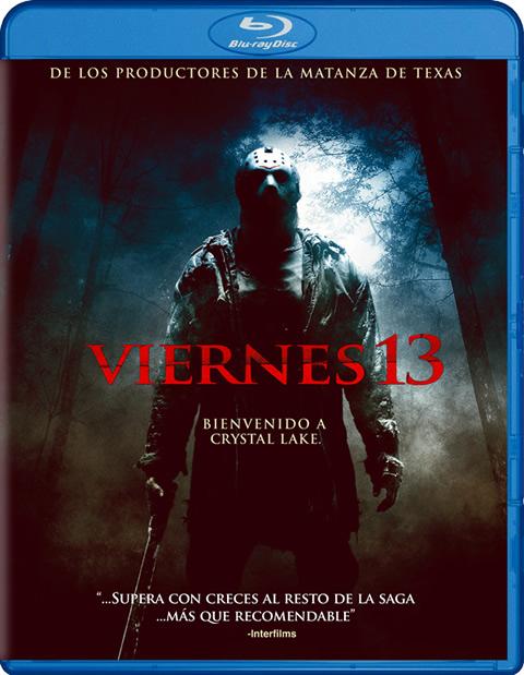 Carátula Viernes 13 Blu-ray