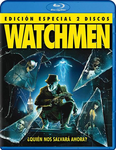 Carátula Watchmen Blu-ray