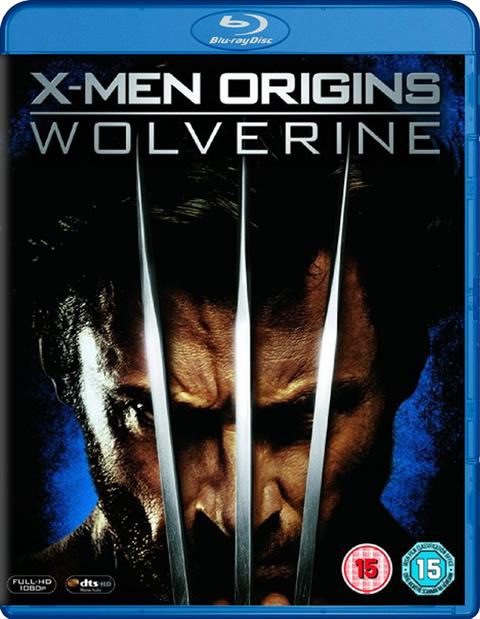 Carátula X-Men Orígenes Lobezno Blu-ray